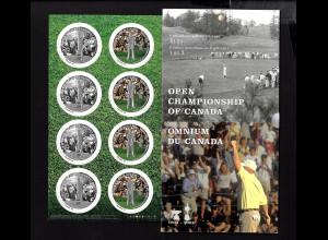 Kanada: 2004, Golfmeisterschaften (großformatiges Folienblatt)