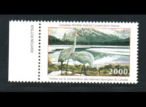 Kanada: 2000, Jagdlizensmarken (Motiv Vögel, keine Briefmarke)