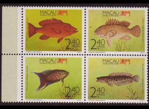 Macau: 1990, Viererblock Fische