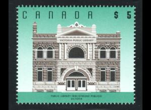 Kanada: 1996, Freimarke Architektur 5 $