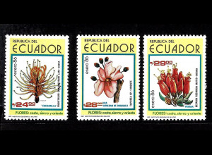 Ecuador: 1986, Blumen