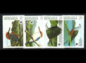 Mikronesien: 1990, Vögel (WWF-Ausgabe)