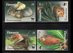 Vanuatu: 1996, Flughunde (WWF-Ausgabe)