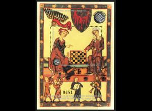 Paraguay: 1985, Blockausgabe Schachspieler