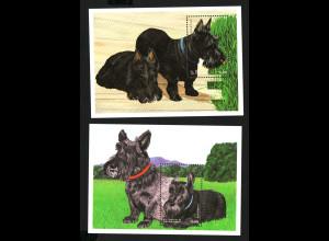 St. Vincent: 1998, Blockpaar Hunde