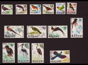Malawi: 1968, Freimarken Vögel ( M€ 110,-)