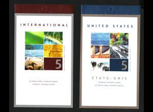 Kanada: 2001, Markenheftchenpaar Tourismus