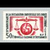 Neukaledonien: 1963, Allgemeine Erklärung der Menschenrechte