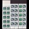 Palau-Inseln: (Schalterbogensatz mit je 50 Werten, M€ 1984, Meerestiere 13 und 20 C. (drei verschiedene Heftchenblätter mit insgesamt 30 Marken)