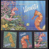 Vanuatu: 2003, Seepferdchen (Satz und Blockausgabe)