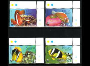 Nauru: 2003, Anemonenfische (WWF-Ausgabe)