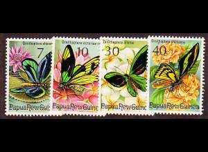 Papua Neuguinea: 1975, Geschützte Schmetterlinge
