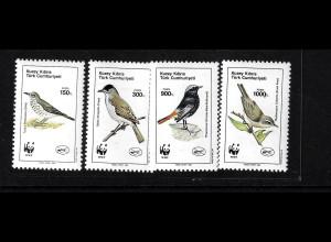 Türkisch-Zypern: 1990, Vögel (WWF-Ausgabe)