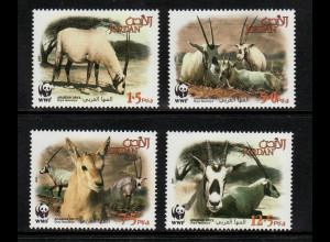 Jordanien: 2005, Weiße Oryx (WWF-Ausgabe)
