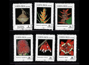 Costa Rica: 1989, Pflanzen