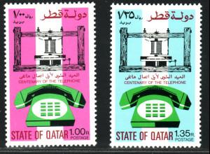 Katar: 1976, 100 Jahre Telefon