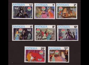 Antigua: 1980, Walt Disney: Dornröschen (Weihnachten)