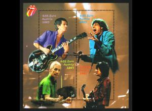 Österreich: 2003, Blockausgabe Rolling Stones