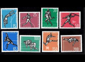 Jugoslawien: 1962, Leichtathletik-Meisterschaft