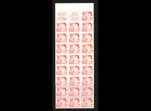 Kanada: 1968, Markenheftchen Jahrhundertfeier (25 x 4 C.)
