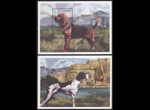 Togo: 2001, Blockpaar Hunde