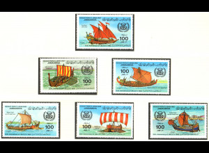 Libyen: 1983, Historische Segelschiffe