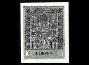 Polen: 1960, Blockausgabe Veit-Stoß-Altar
