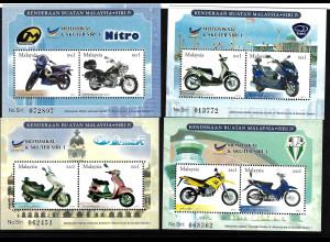 Malaysia: 2003, Blocksatz Motorräder