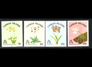 Kaiman-Inseln: 1985, Orchideen