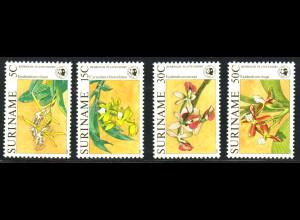 Surinam: 1986, Orchideen