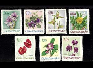 Tschechische Republik: 1967, Blumen