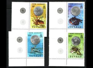 Tuvalu: 1976, Münzen