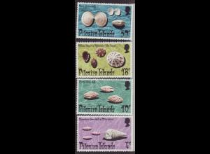 Pitcairn: 1974, Meeresschnecken und Muscheln
