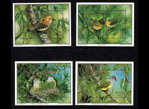 Cook-Inseln: 1989, Blocksatz Seltene Vögel