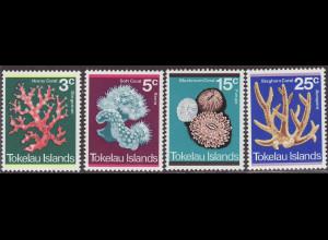 Tokelau-Inseln: 1973, Korallen