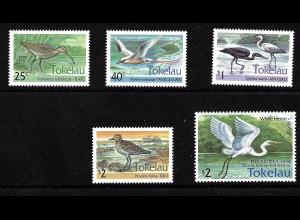 Tokelau-Inseln: 1993/94, Vögel