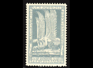 Deutsches Reich: 1912, Halbamtliche Flugmarke Margareten-Volksfest