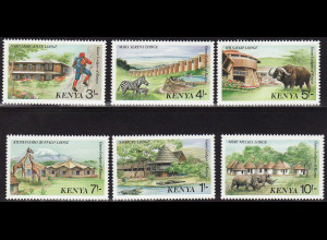 Kenia: 1988, Tourismus (auch Motiv Tiere)