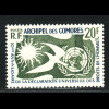 Komoren: 1958, Erklärung der Menschenrechte