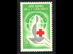 Komoren: 1963, Rotes Kreuz