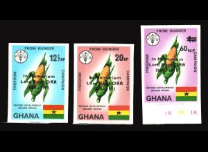 Ghana: 1971, John Boyd-Orr (Friedensnobelpreisträger, ungezähnt)