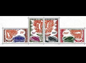 Kongo / Brazzaville: 1964, Blockausgabe Sommerolympiade Tokio