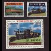 Honduras: 1996, Eisenbahnen (Satz und Blockausgabe)