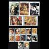 Bhutan: Rubens-Gemälde (Satz und Blocksatz aus 12 Blockausgaben, M€ 103,-)