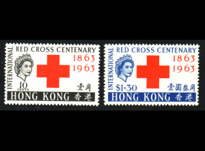 Hongkong: 1963, Rotes Kreuz