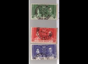 Hongkong: 1937, Krönungsausgabe
