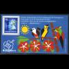 Hongkong: 1992, Blockausgabe Briefmarkenausstellung Kuala Lumpur