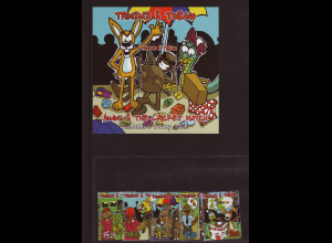 """Trinidad und Tobago: 2005, Comicfigur """"Anansi, die Spinne"""" (Satz und Blockausgabe)"""