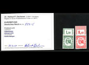 1934, Friedrich von Schiller (Oberrand, Kurzbefund einwandfrei Oechsner BPP)