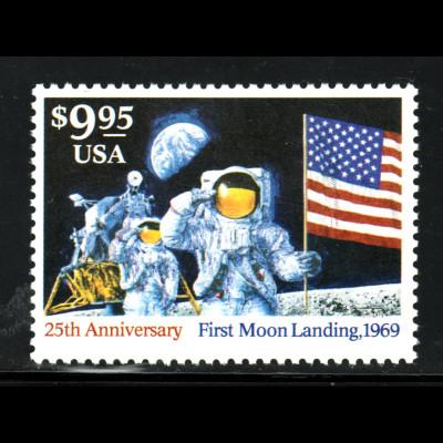 USA: 1994, Mondlandung 9,95 $ (nur Höchstwert)